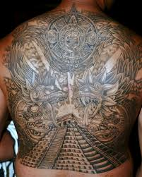 mexican style tattoos aztec tattoo designs design tattoos and