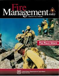 61 by Fire Management Today Volume 61 Issue 04 Us Forest Service