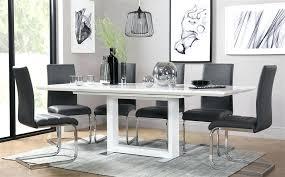 High Gloss Extending Dining Table Grey Gloss Kitchen Table Gallery White High Gloss Extending Dining