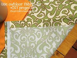 Outdoor Fabric Simple Diy Outdoor No Sew Fabric Projects 2 Boys 1 U003d One