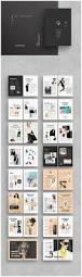 design attractive book layout brochures minimal and architecture