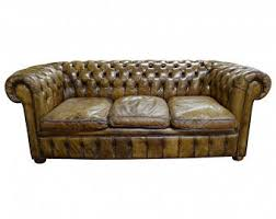 Leather Chesterfield Sofa For Sale Chesterfield Sofa Etsy