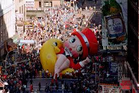 betty boop balloon collapses in times square during the 1986 macy s