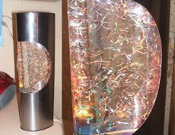vintage shred cutout glitter lamp a french metal glitter u2026 flickr