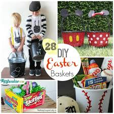 easter baskets for boy 28 diy easter baskets tip junkie