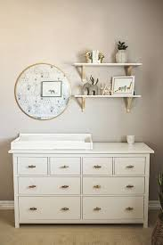 baby nursery dresser organizing the changing table organization 18