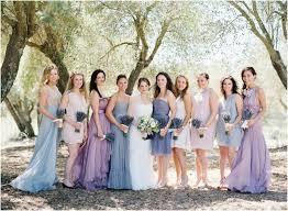 lavender bridesmaids dresses mismatched purple and lavender bridesmaid dress ideas link