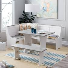 Nook Dining Set by Belham Living Camden Coastal Nook Dining Set From Hayneedle Com