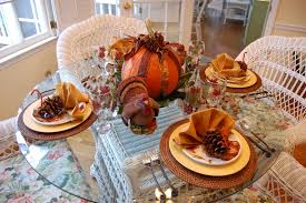 thanksgiving tablescape for the