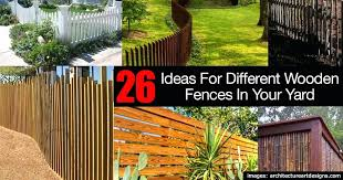 Backyard Fence Decorating Ideas Wooden Fencing Ideas Wooden Fence Ideas Backyard Wooden Fence