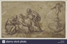 Susanna Im Bade Susanna And The Elders Oil Stockfotos U0026 Susanna And The Elders Oil