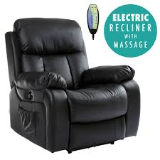 Ebay Armchair Chester Electric Heated Leather Massage Recliner Chair Sofa Gaming