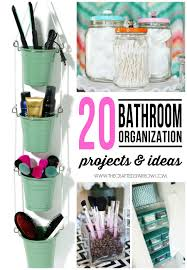 bathroom organizer ideas bathroom organization projects ideas