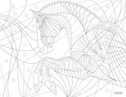 free horse coloring page the valley equestrian news