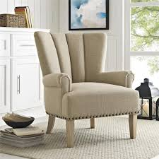 dorel living better homes and gardens richmond accent chair beige