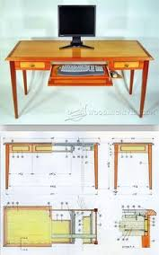 Woodworking Plans Computer Desk by Executive Desk Woodworking Plans Mar 9 2014 A Quick Video Of The