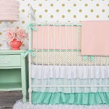 nursery bedding mint is in u2013 caden lane