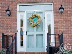 painting your front door the easy way the diy village repainting your front door gives your home a colorful burst of curb