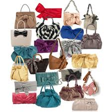 bags with bows polyvore page