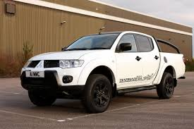 mitsubishi launches new l200 barbarian black special edition in