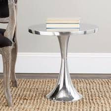 Aluminum Accent Table Best 25 Silver Side Table Ideas On Pinterest Metallic Gold