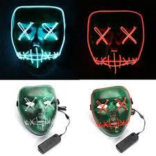 online buy wholesale halloween led light from china halloween led led light up skull mask human skeleton scary fancy dress up dj