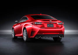 2015 lexus rc 350 coupe rear photo infrared exterior paint