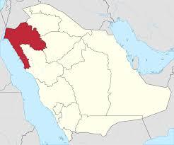 map of tabuk tabuk region