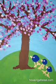 spring painting ideas 10 cherry blossom tree crafts housing a forest
