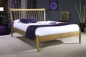 king size oak bed frame king size wooden bed frame with storage