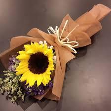 sunflower bouquet 108 florist sunflower bouquet 1 stalk