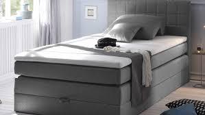 B O Schreibtisch Grau Hawaii Bett Schlafzimmerbett Grau Topper 120