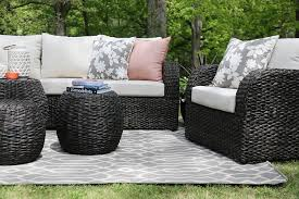 Sunbrella Cushions For Outdoor Furniture Furniture Exterior Cozy Patio Furniture Cushions Design With