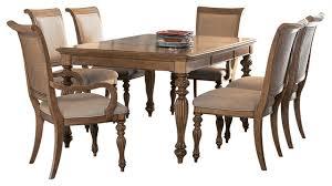 american drew cherry grove dining room set american drew grand isle 7 piece leg dining room set in amber new