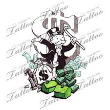 monopoly tattoo monopoloy pinterest monopoly and tattoo