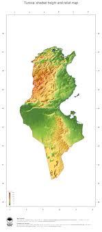 tunisia on africa map map tunisia ginkgomaps continent africa region tunisia