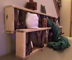 diy pallet shelf and tree branch coat rack 101 pallet ideas