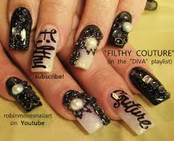 robin moses nail art nicki minaj roman in moscow nails chain