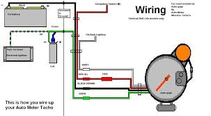 auto meter wiring diagram auto wiring diagrams instruction
