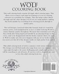 amazon wolf coloring book coloring book wolves