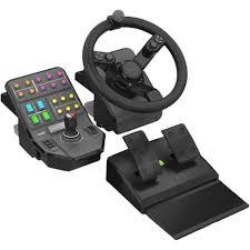 siege volant pc pack volant pédalier farming simulator pas cher à prix auchan