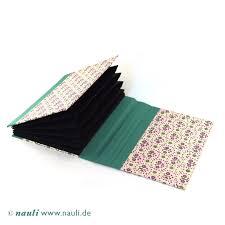 nauli small accordion folder violet green art deco design