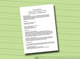 Best Way To Write An Objective For A Resume by How To Write A Resume For A Job In The Fashion Industry 12 Steps