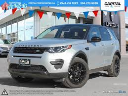 winnipeg manitoba lexus rx 350 pre owned 2016 land rover discovery sport se awd suv in winnipeg