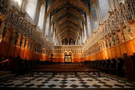 Cathedral Interior Albi Cathedral Interior Stock Photo Image Of Aisle Albi 8479528