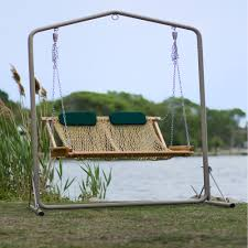 Wrought Iron Patio Swing by Exterior Wrought Iron Porch Swing With Chain Using Curved Arm And