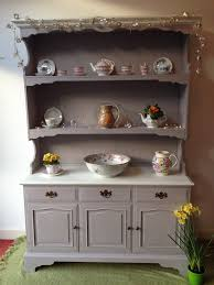 stunning large welsh dresser hand painted in annie sloan paloma