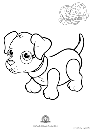 pet parade cute dog labradog coloring pages printable