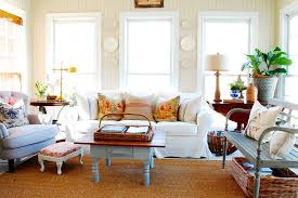 French Country Decor Living Room Family Room Shabbychic Style - Family room in french