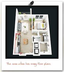Ellis Park Floor Plan by Townhouse Atlanta